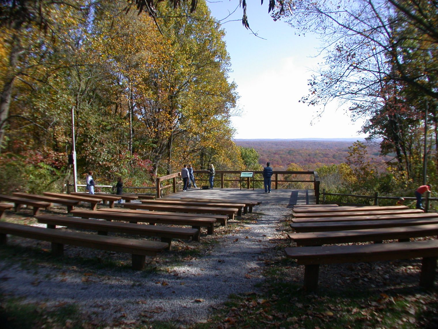 Amphitheater at the Nature Center