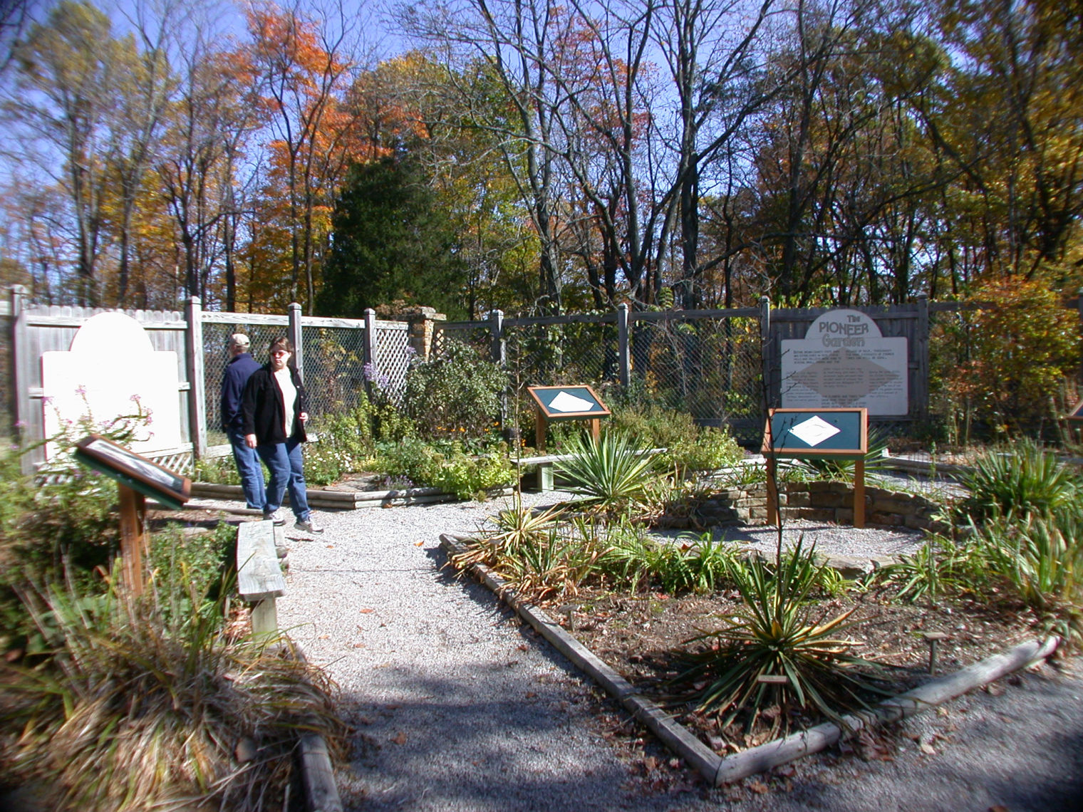 Interpretive Gardens at the Nature Center
