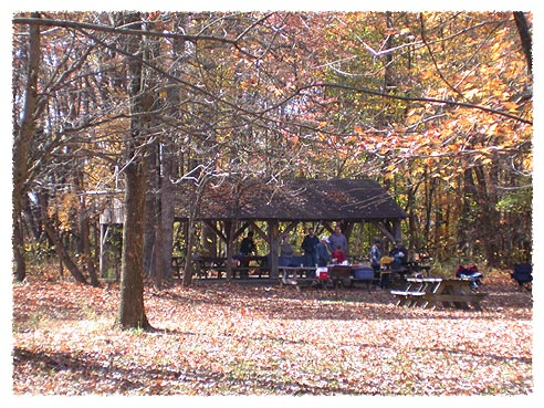 Tulip Tree Shelter Picture Brown County State Park Indiana